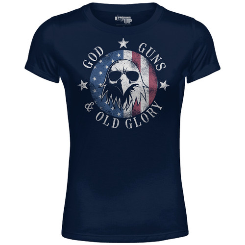 *COMING SOON* WOMEN'S God, Guns and Old Glory Normal Fit Shirt