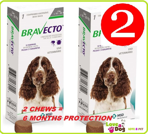 Bravecto Chews For Dogs Flea Tick Treatment In A Tasty