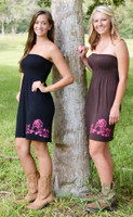 Hog Hunting Onesize tube top Dress