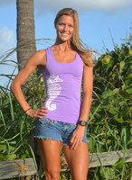 Purple Seahorse tank