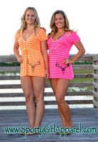 Neon Cute hunting deer skull beach coverup- Also in black