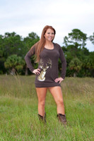 Brown Deer Sweater dress / Tunic