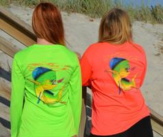 Mahi Mahi fishing sun shirts