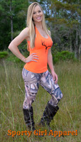 Duck camo leggings Full Length or Capri