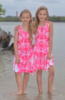 Pink Kids Nautical dress