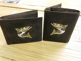 Snook  leather Wallet
