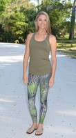 Palmetto camo leggings