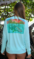 womens Jupiter Lighthouse snook sunshirt