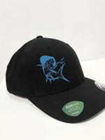 MAHI BLACK ECO DRY water repellent Flex fit hat