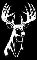Buck Head hunting decal