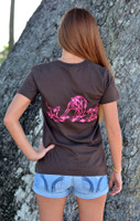 ONLY XL and 2X left in stock Ladies Hog Hunting Shirt
