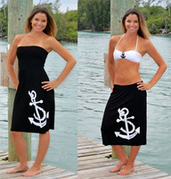 Anchor longer length Onesize Dress-MORE COLORS