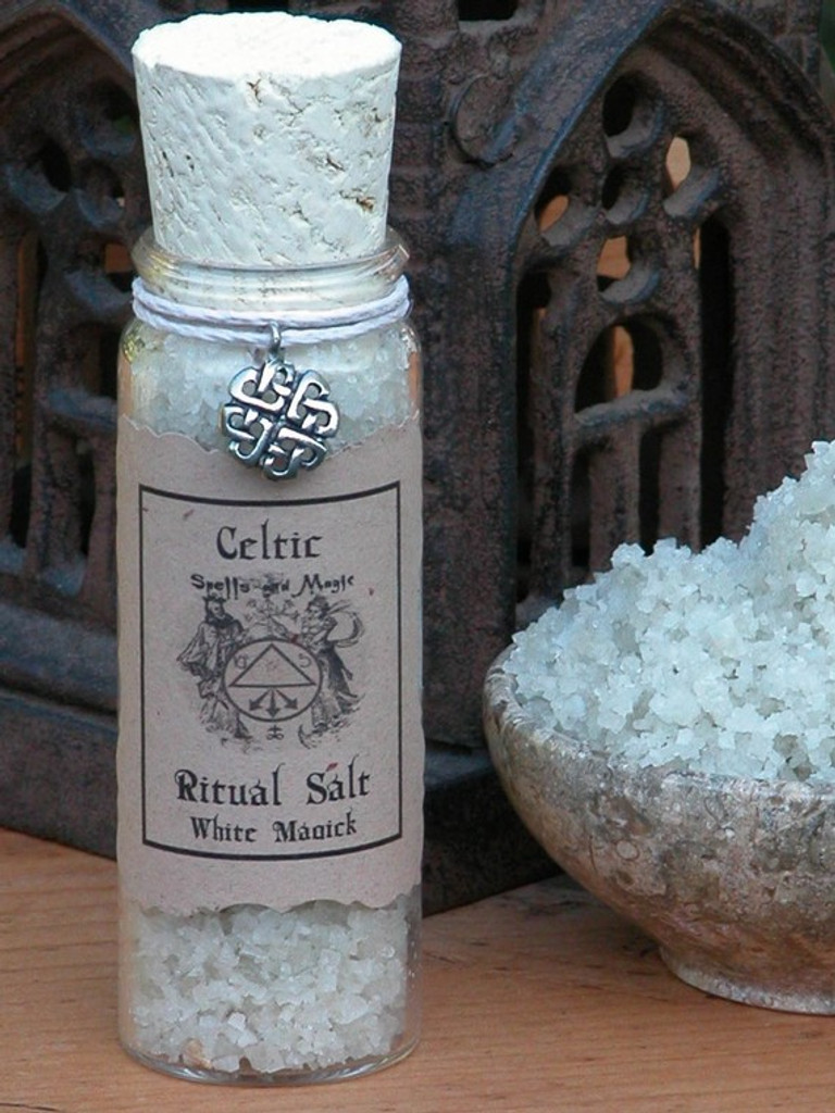 Celtic Ritual Salt . Organic . Celtic and Druid Workings, Spells, Ritual, Cleansing, Purification, Charging and Casting