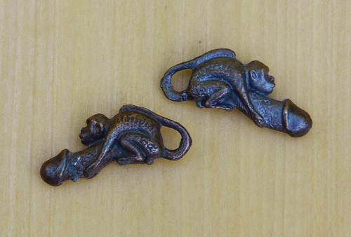 25% OFF - Palad Khik Amulet in Dark Brass