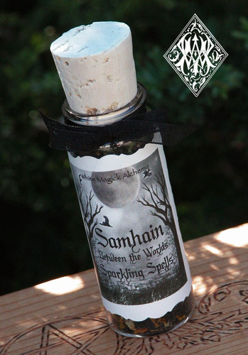 Between the Worlds . Sparkling Spells Casting Powders . Samhain. Spirit/Ancestral Connections, Seance, Breaking thru the Veil, Divination