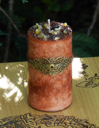 Frankincense and Myrrh Alchemy Candle For Blessings, Love, Peace, Abundance, Healing, Purification