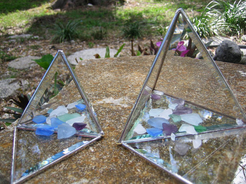 Trinity Glass Pyramid Charging Boxes