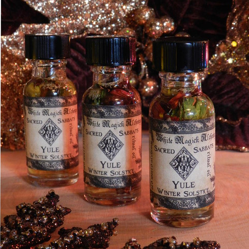 *Yule Winter Solstice Alchemy Ritual Oils
