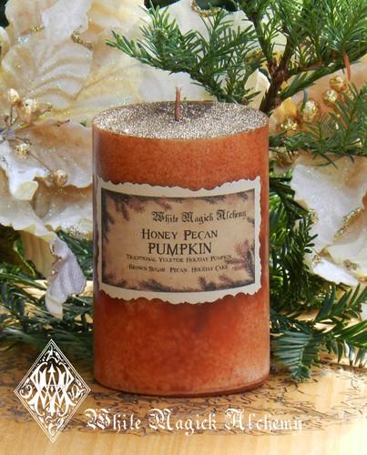 Honey Pecan Pumpkin Candles 2x3