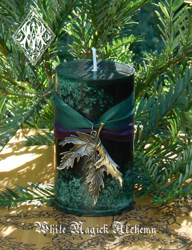 Frankincense Candles for Yule