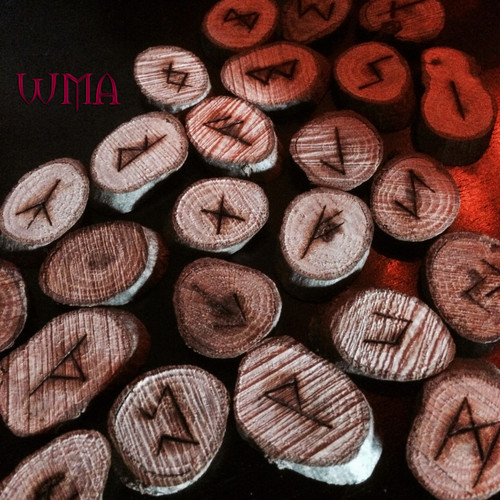 Oak Elder Futhark Viking Rune Set