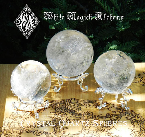 Quartz Spheres & Crystal Balls