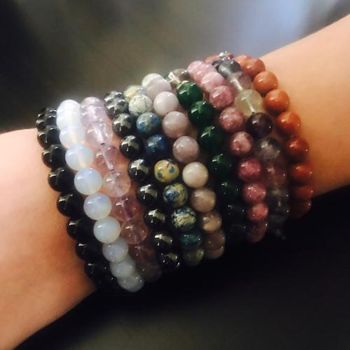 Bohemian Gemstone Bracelets, Harness the Magical & Healing Energies of Stones