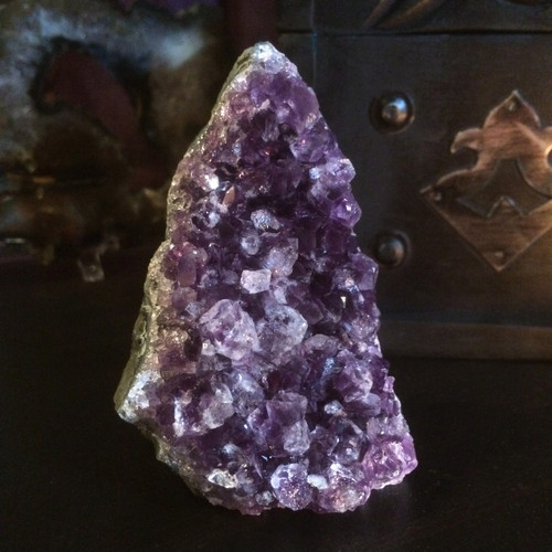 Amethyst Cluster for Peace, Balance, Love, Spirituality #1