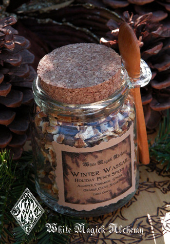 Holiday Wassail Punch Mulling Spices & Fruits for Cider and Wine