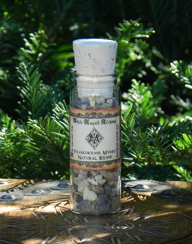 Frankincense and Myrrh Sacred Resin Incense