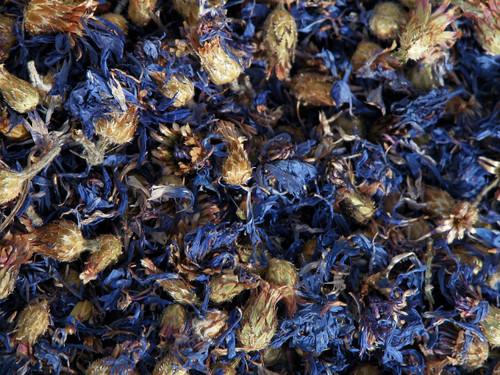 Blue Cornflower Petals  ~ Herbal Alchemy