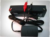 12 volt 2.3ah  sla battery and 12 volt sla smart charger.