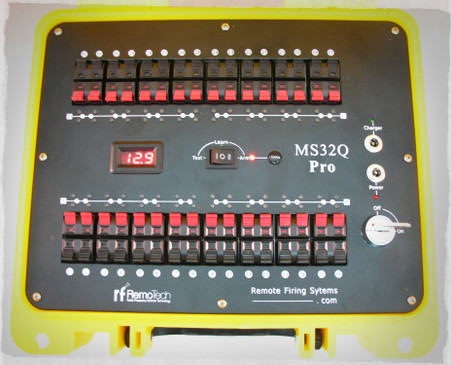 MS32Q Pro Remote Fireworks Firing System