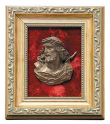 Framed Relief Bust of Ecce Homo