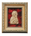 Framed Relief Bust of Our Lady of Perpetual Help