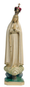 Our Lady of Fatima Statue - 11 inch