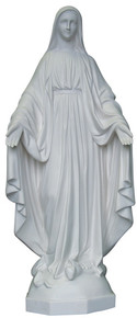 Our Lady of Grace - Marble resin