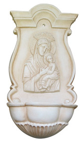 Perpetual Help Holy Water Font