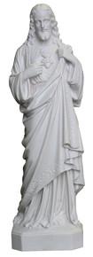 Sacred Heart of Jesus - Marble resin