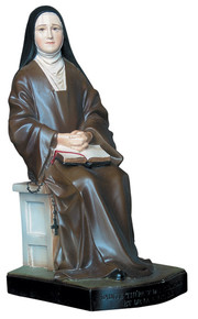 Saint Thérèse - Seated, Hand-painted