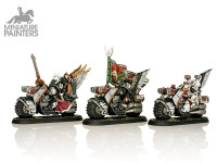 SILVER Ravening Command Squad