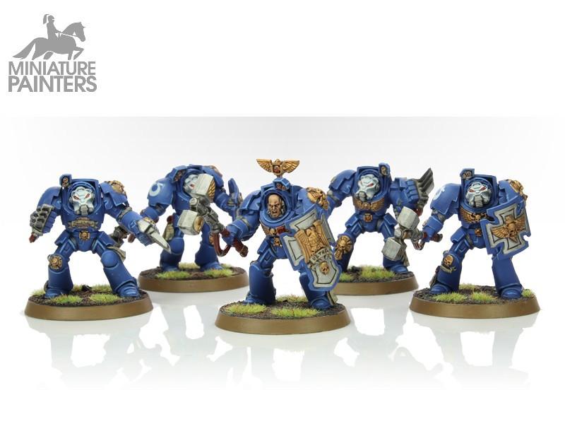 SILVER Terminator Close Combat Squad