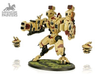 SILVER XV104 Riptide Battlesuit