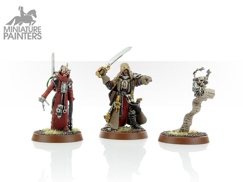 SILVER Inquisitor Solomon Lok and Retinue