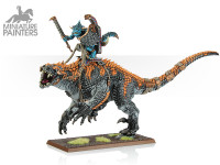 SILVER Saurus Scar-Veteran on Carnosaur