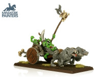 LEAD Goblin Wolf Chariot