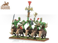 BRONZE Savage Orc Boar Boyz