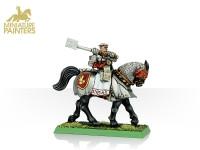 GOLD Warrior Priest on Warhorse