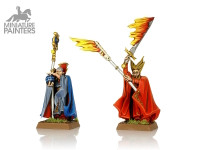 Silver Battle Wizards
