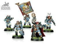 SILVER Tempestus Scions Command Squad